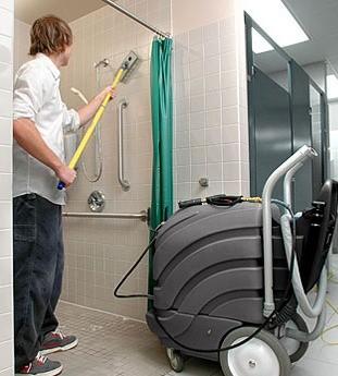 Equipo de limpieza especializado